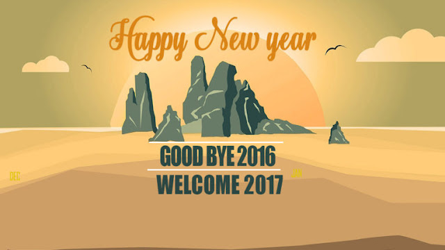 Good Bye 2016 Welcome Happy New Year 2017 Pics