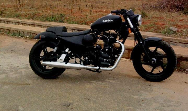 concept cars royal enfield bullet modified