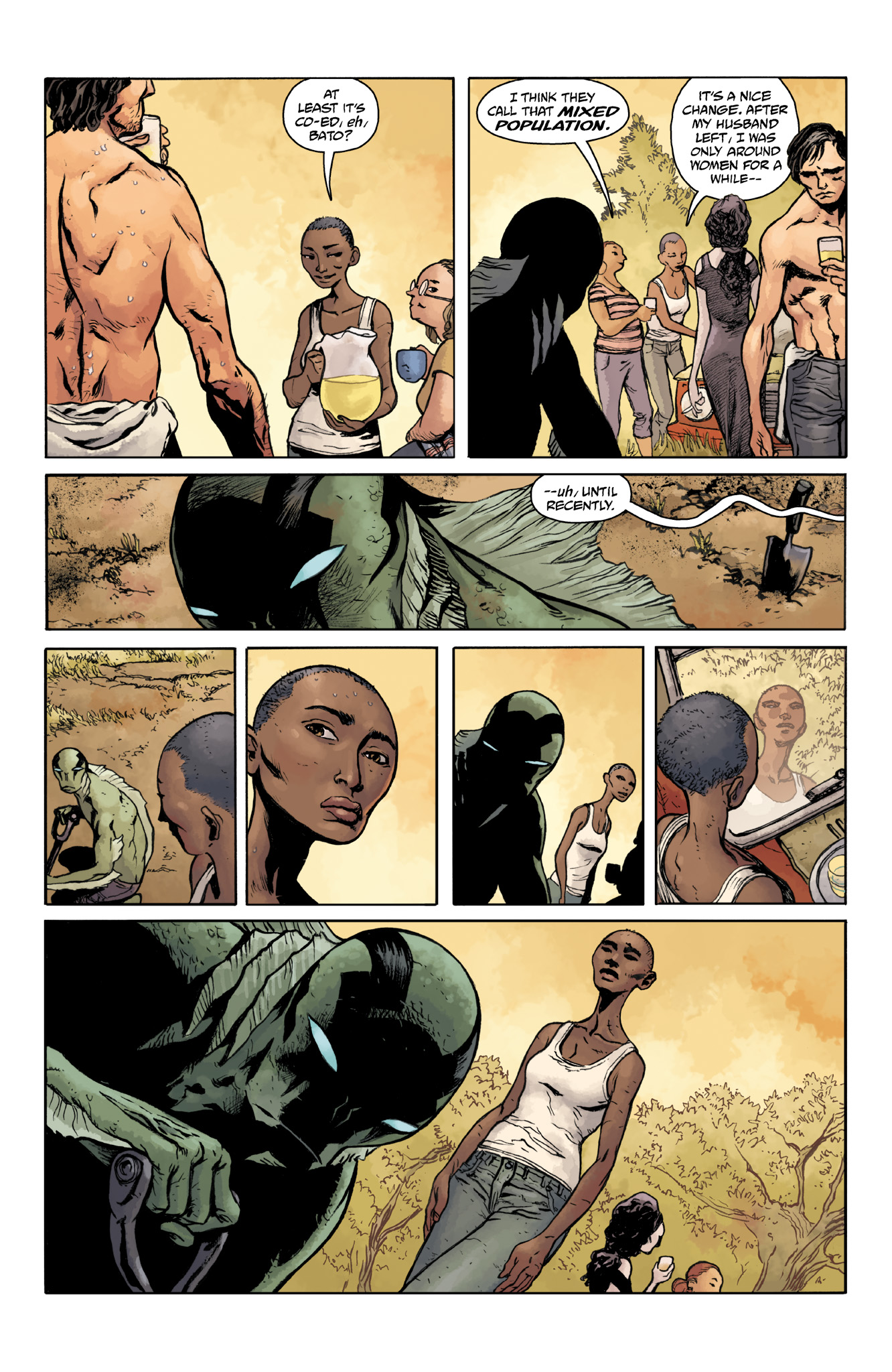 Read online Abe Sapien comic -  Issue #18 - 17
