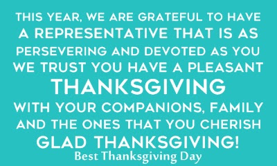 Happy Thanksgiving Day Messages And Wishes for Employees