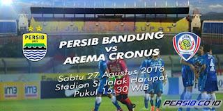 Persib Bandung vs Arema Cronus