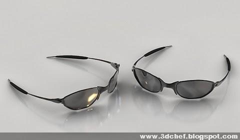 free 3d model glasses