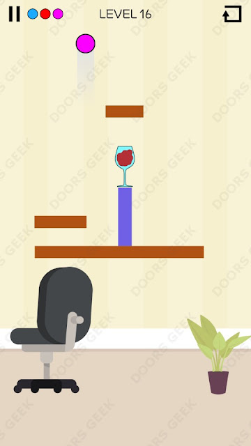 Spill It! Level 16 Walkthrough, Solution, Cheats for Android, iPhone, iPad and iPod