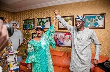 Tinubu -Ojo endorse Babajide Sanwo-Olu