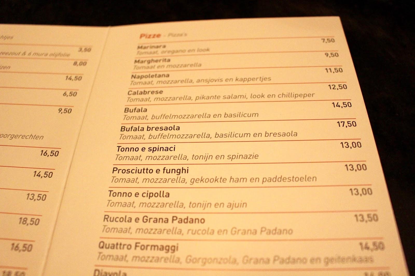 Pizza in Antwerp - Civilta Del Bere