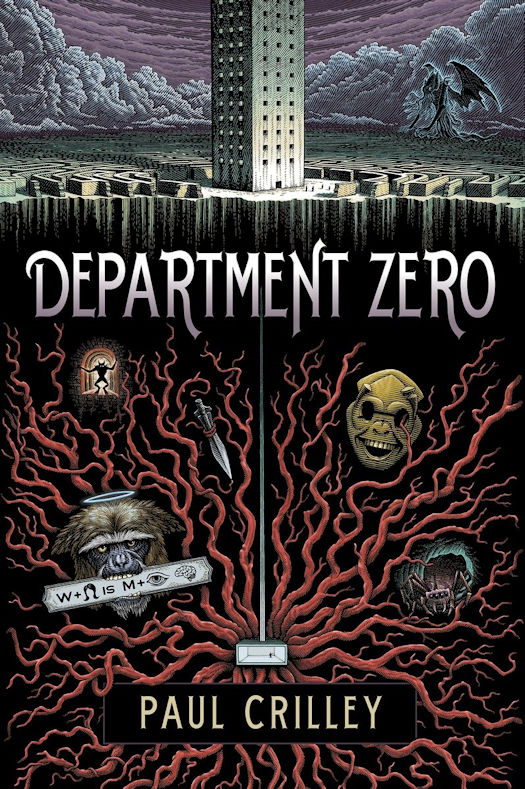 Interview with Paul Crilley and Review of Department Zero