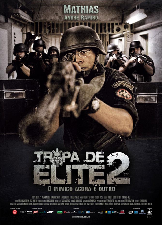Elite Squad 2 (Troupe d'élite - L'ennemi intérieur) [Sub: Eng]