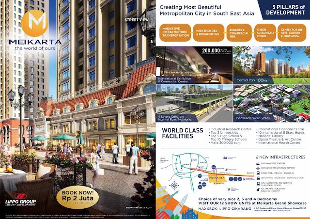 Brosur Meikarta Cikarang, Kota Raksasa Terbaru di Bekasi