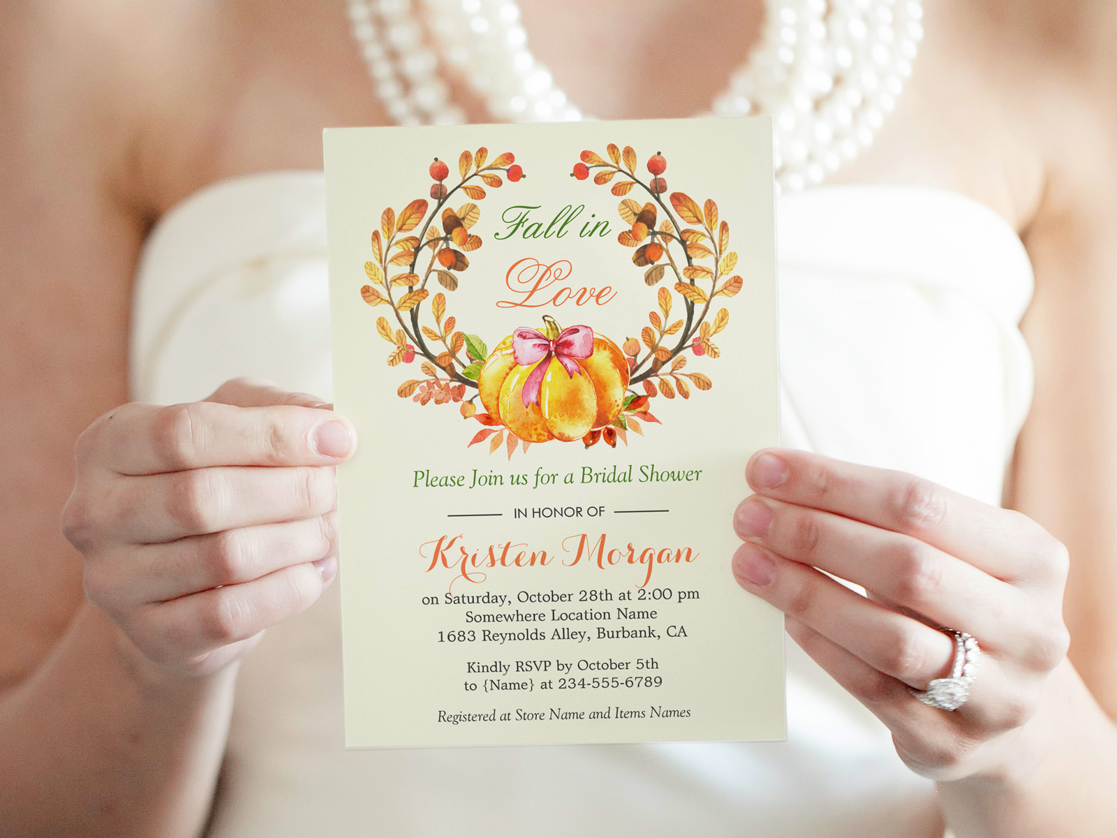 30 fall in love bridal shower invitations mimoprints 30 fall in love bridal shower invitations filmwisefo Gallery