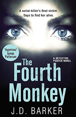 The Fourth Monkey by J.D. Barker book cover