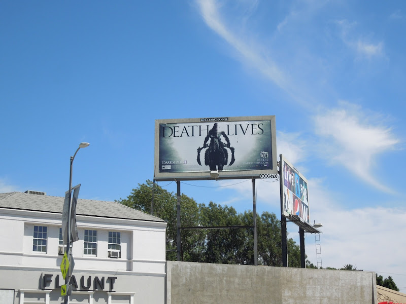 Death Lives billboard