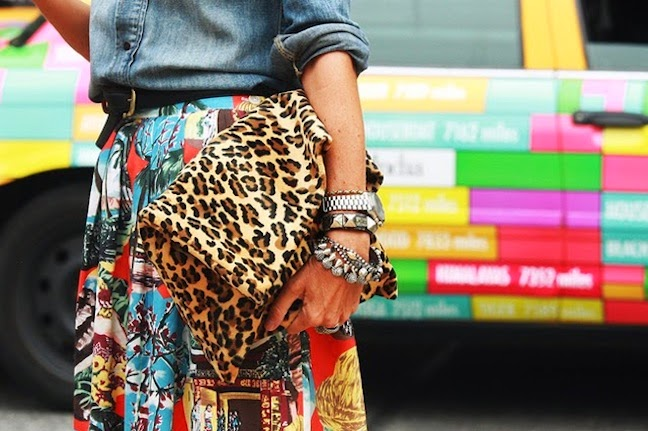 arm party animalier streetstyle