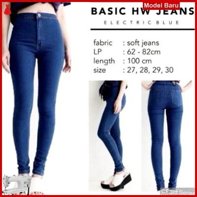 GFSH0199019 Setelan Hw Electric Terbaru Jeans Blue BMG