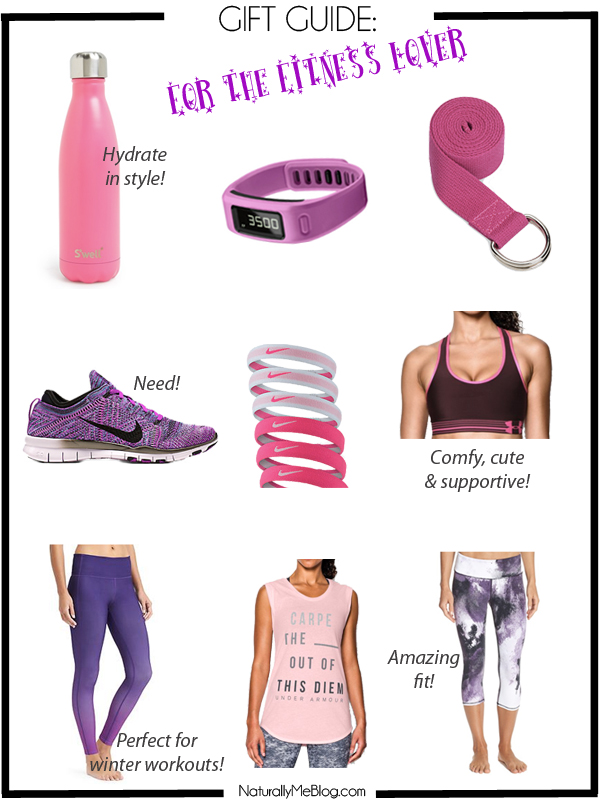 Valentine's Day, Valentine's Day ideas, gift guide, holiday gift guide, fitness lover, activewear, workout wear, gym clothes, shop the post, under armour tank top, Garmin Vivofit, S'well bottle
