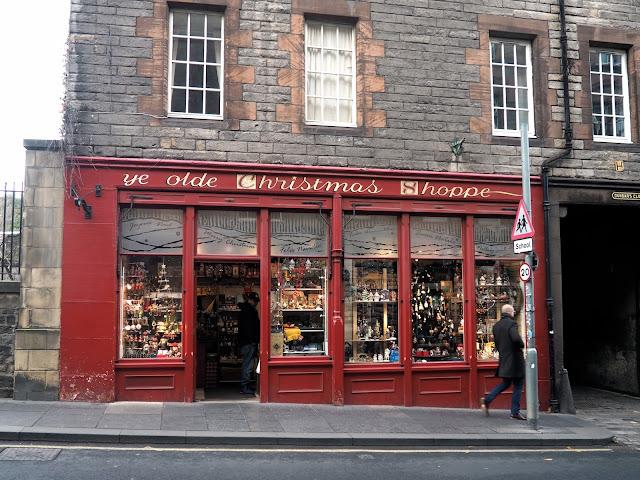 Ye Olde Christmas Shoppe, Royal Mile, Edinburgh