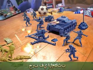تحميل لعبة army man strike مهكرة