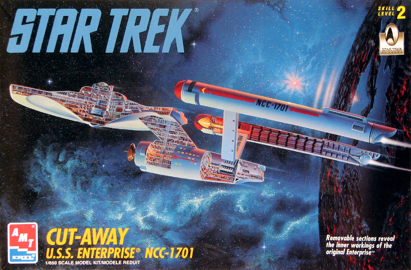 the trek collective slicing up the enterprise cutaway models and