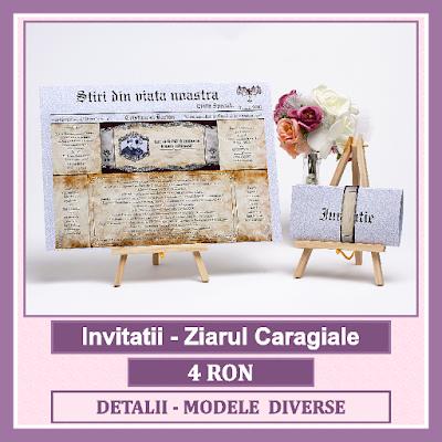 http://www.bebestudio11.com/2017/01/invitatii-nunta-ziarul-caragiale.html
