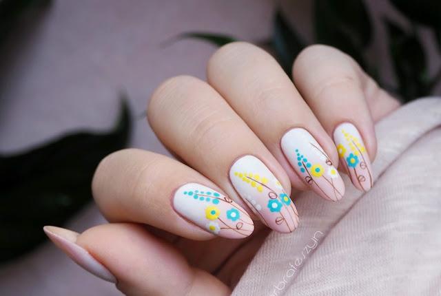 Pierwszy dzień wiosny | Wiosenne paznokcie