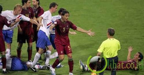 Hujan kartu, Portugal vs Belanda (2006)