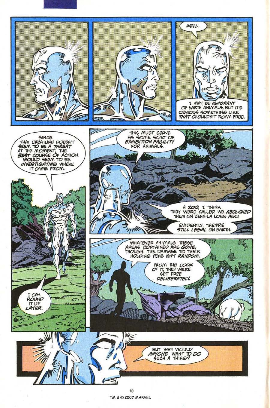 Read online Silver Surfer (1987) comic -  Issue #54 - 12