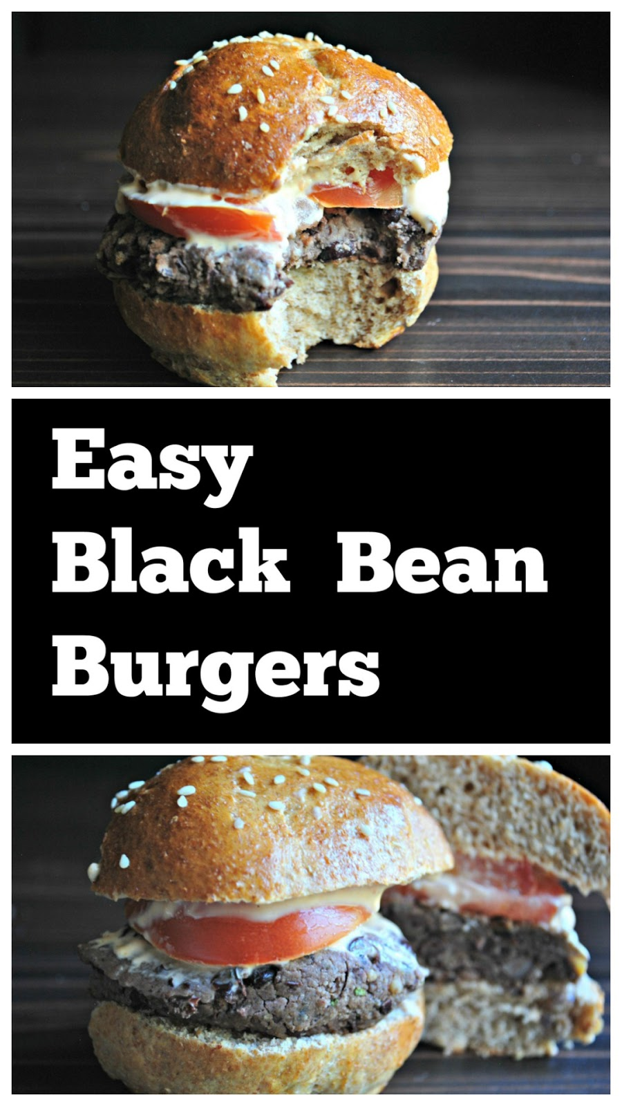 One of the best and easy to make black bean burger recipes : healthy, protein packed, homemade