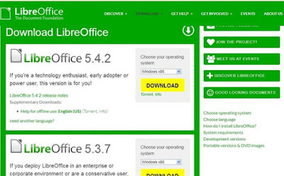 Libre Office Ubah Word ke Pdf