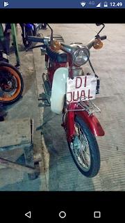 Jual Murah Honda Kalong C70 Harga Syantik