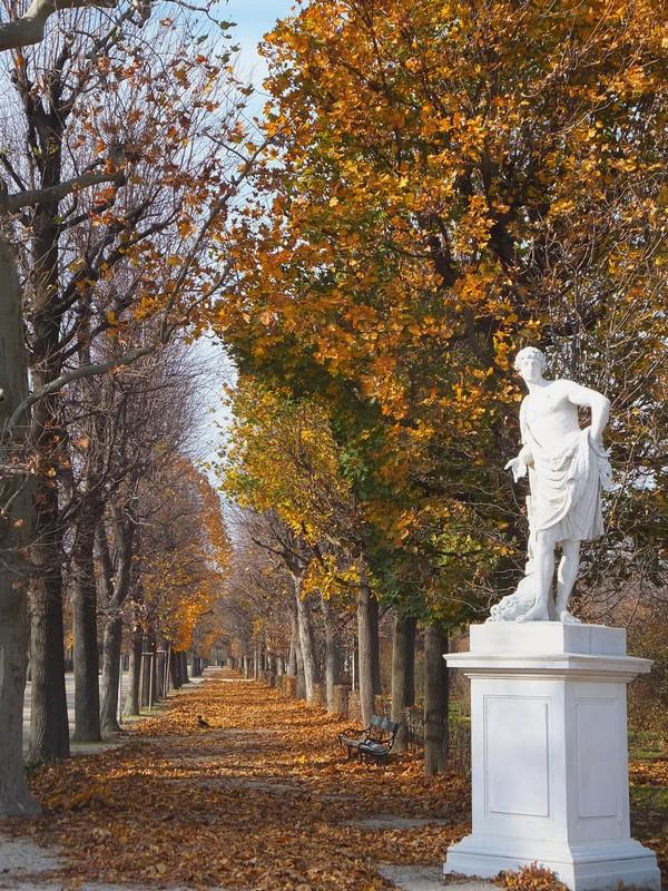 Vienne Wien château schönbrunn schloss parc