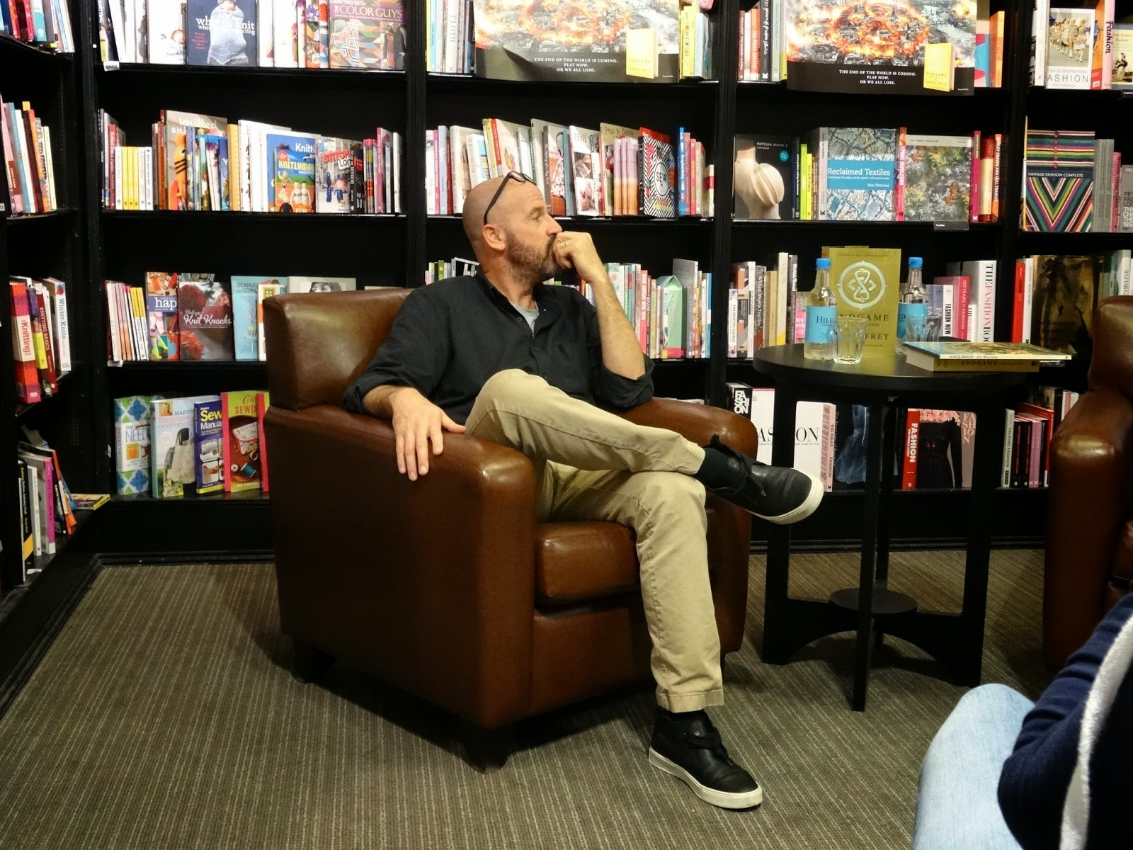 Endgame Waterstones Bath meeting James Frey