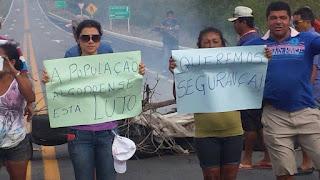 Líderes do movimento de Algodão de Jandaíra que bloqueou BR 104 conseguem audiência com comandante do 10º BPM