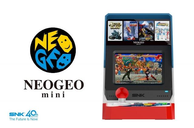 الإعلان رسميا عن جهاز Neo Geo Mini و هذه مواصفاته …