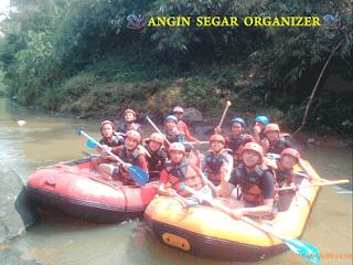 Paket Rafting Sungai Cisadane