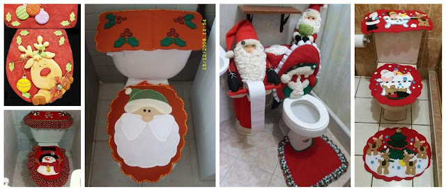 juego-baño-navideño