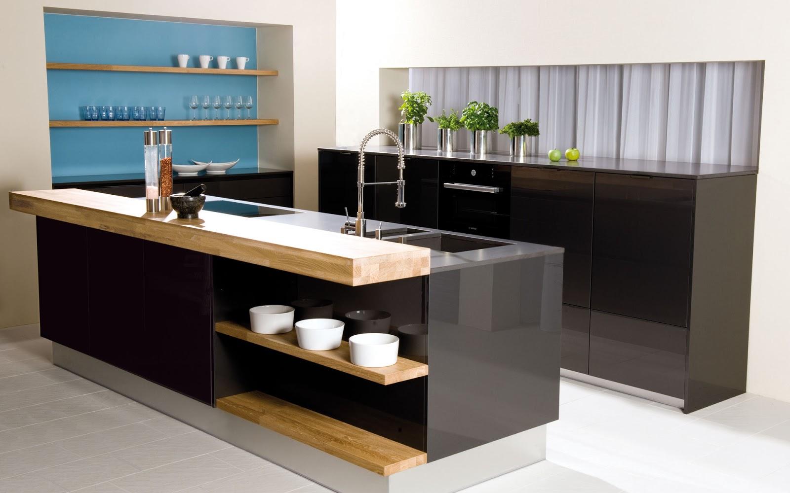 30 ideas de mesas y barras para comer en la cocina for Material cocina