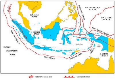 Peta Kota: Proses Gempa Bumi