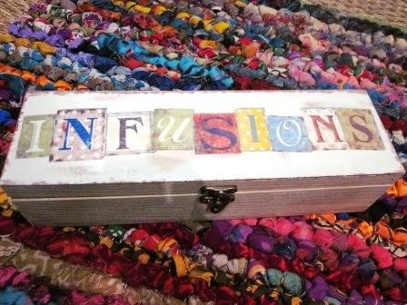 Caja madera infusiones