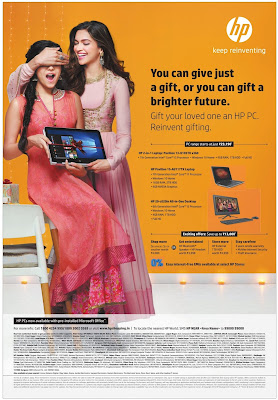 HP Laptops Never before festival offers| October 2016 Diwali/Dassehra discount offers | deal