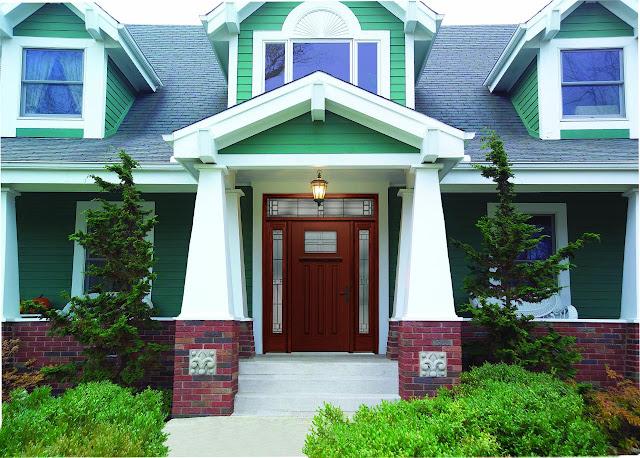 Trend warna cat depan rumah 2020 modern #1