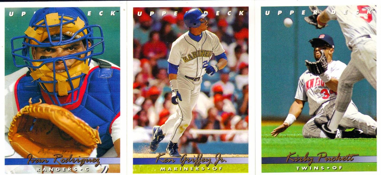 Nothing If Not Random 1993 Upper Deck Baseball Team Set A