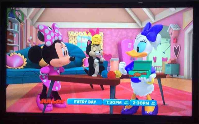 Powervu Disney Junior, Disney Channel, dan Disney XD
