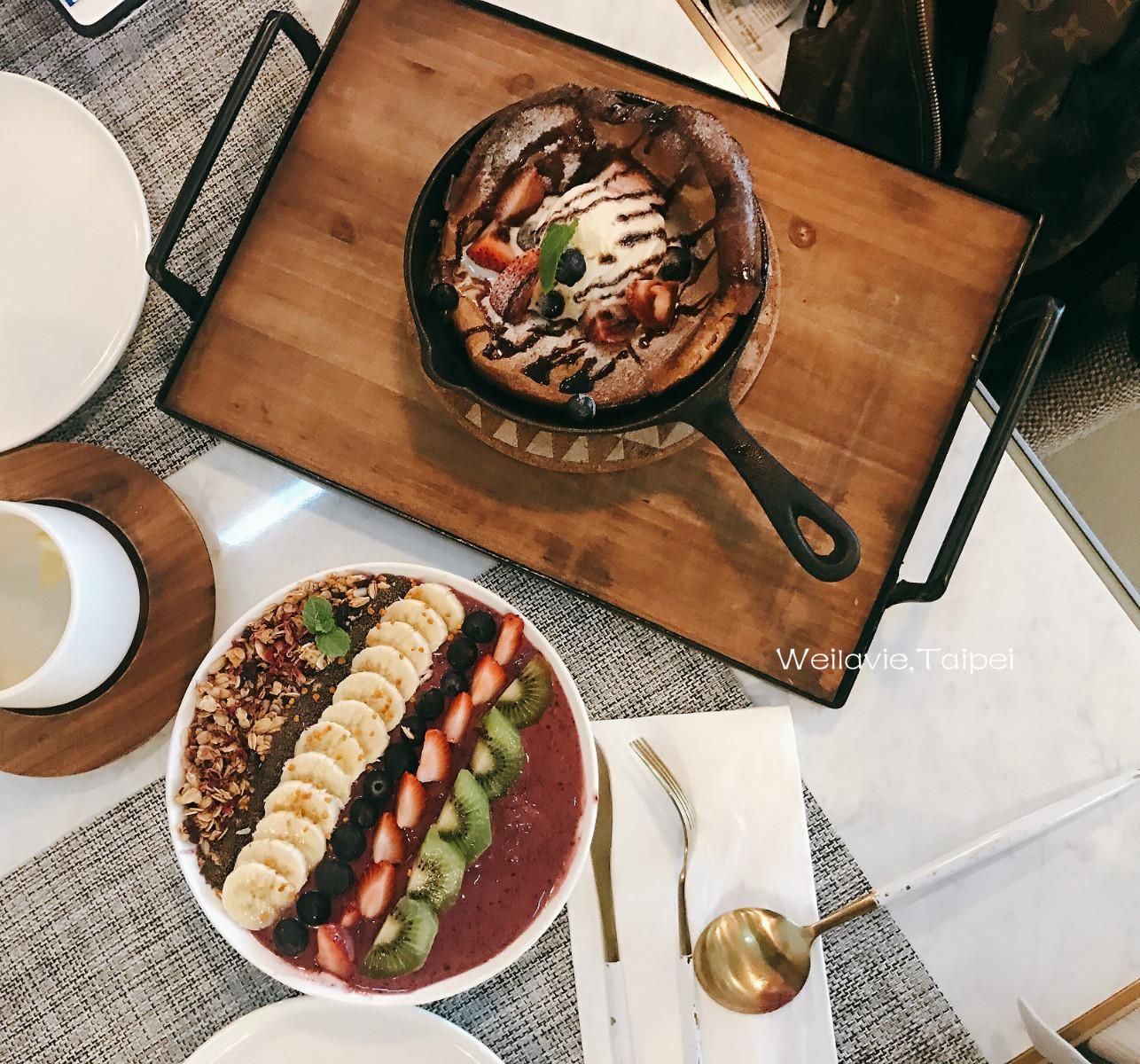 忠孝復興|我的排行早午餐推薦| 超美味Acai bowl巴西莓果碗 - Weilavie