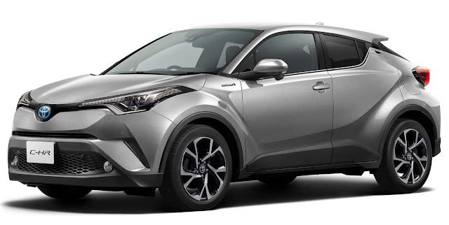 Toyota C-HR - concorrente do HR-V