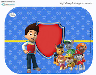 Paw Patrol Birthday Party Free Printable Labels