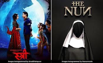 हॉरर फिल्मों ने मचाया भूचाल, 'स्त्री' पर भारी पड़ी 'The Nun'