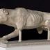 Κυνηγετικός σκύλος στο μουσείο της Ακρόπολης...