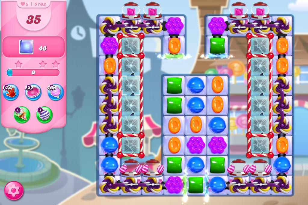 Candy Crush Saga level 5702