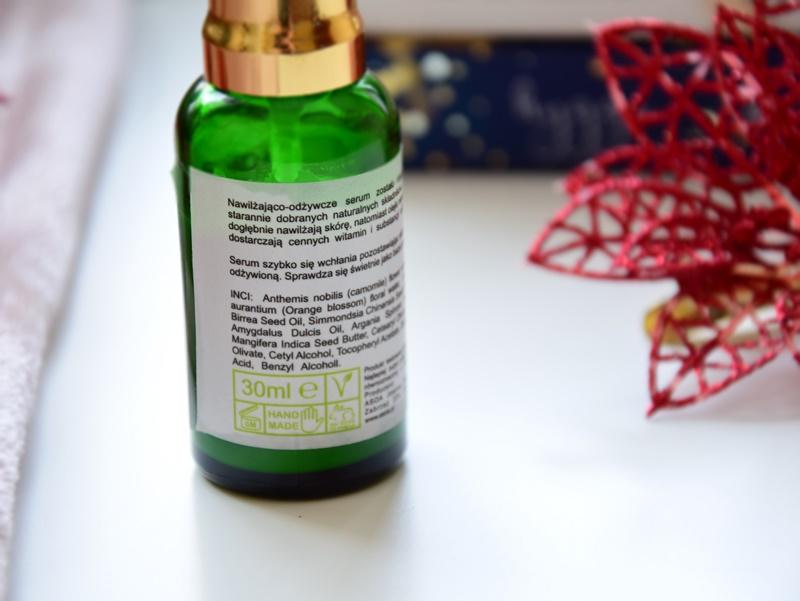 serum  nawilżająco-odżywcze skład
