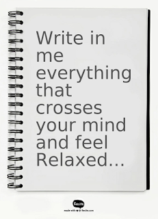 Write what you have in your mind in a journal during your travel to work