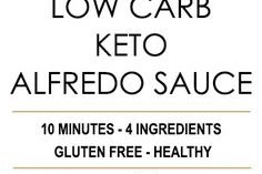Low Carb Keto Alfredo Sauce Recipe